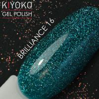 Гель лак Kiyoko Brilliance №16 8ml
