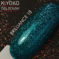 Гель лак Kiyoko Brilliance №18 8ml