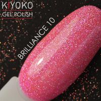 Гель лак Kiyoko Brilliance №10 8ml