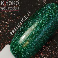 Гель лак Kiyoko Brilliance №15 8ml