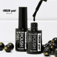 Гель лак Fresh Prof BLACK 15g