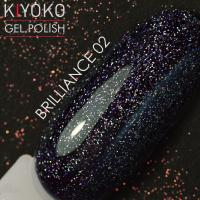 Гель лак Kiyoko Brilliance №02 8ml