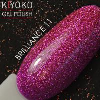 Гель лак Kiyoko Brilliance №11 8ml