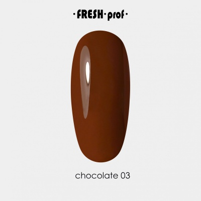 Гель лак Fresh Prof Chocolate 10мл Ch03