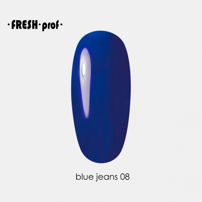 Гель лак Fresh Prof Blue 10мл B08