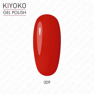 KIYOKO.Gel polish 8ml. №009