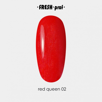 Гель лак Fresh Prof Red 10мл R02